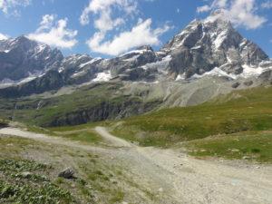Aosta punkt wypadowy także na Maternhorn.